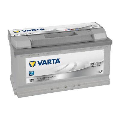 Varta Silver Dynamic Autobatterie H3 12V 100Ah 830A ersetzt 88Ah 90Ah 95 110Ah online kaufen