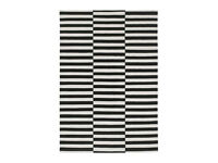 IKEA Sockholm black and white rug. 240x170cm
