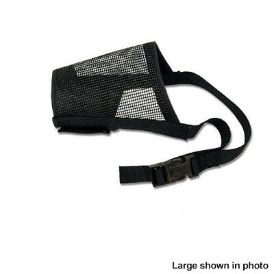 Best Fit Dog Mesh Muzzle Black -