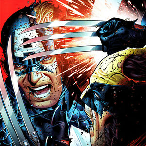 WOLVERINE-Captain-America-ART-PRINT-Avengers-VS-X-Men-3-Cover-JIM-CHEUNG-Litho