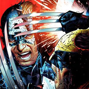 WOLVERINE-Captain-America-ART-PRINT-Avengers-VS-X-Men-3-Cover-JIM-CHEUNG-Litho
