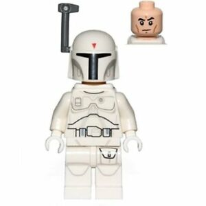 LEGO Star Wars Minifigure WHITE BOBA FETT Exclusive New and Rare