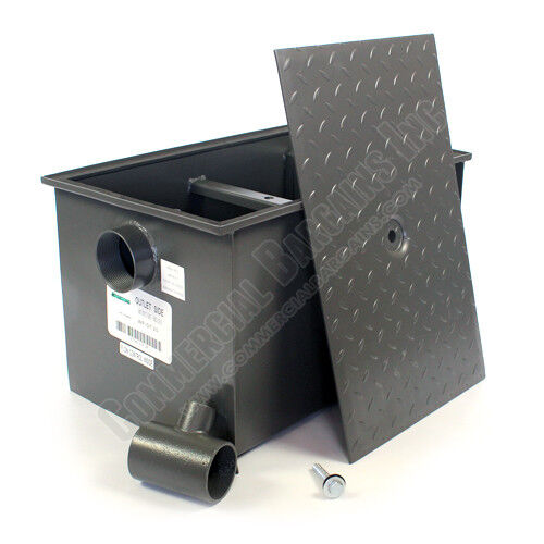 Commercial Grease Trap 40lb 20 GPM Wentworth  WP-GT-20
