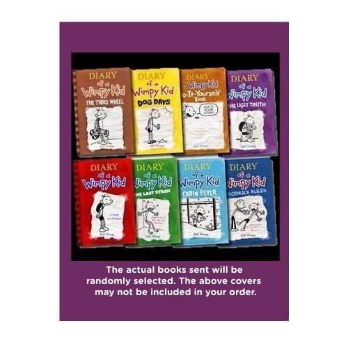 Five-pack Bundle / Lot -  Diary Of A Wimpy Kid (jeff Kinney)