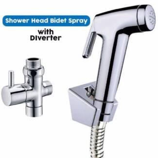Hand Held Shower Head Douche Bidet Silverwater Auburn Area Preview