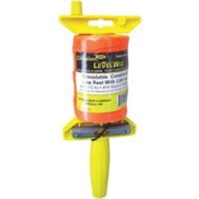 Stringliner Levelwiz 540 Ft. Fluorescent Orange Twisted Nylon Mason Line Reel