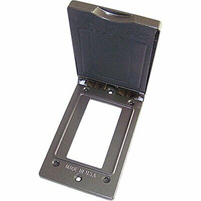 Greenfield Cgfivbrs Series Weatherproof Electrical Outlet Box Cover Bronze