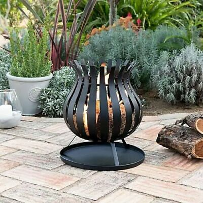 Bulb Fire Basket Fire Pit Garden Patio Heater New Boxed - Next Day Delivery!