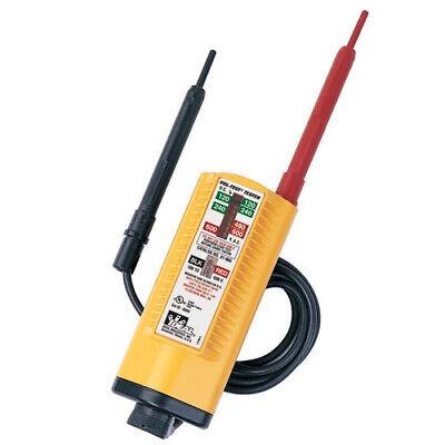 Ideal Electrical 61-076 Vol-con Tester600v600v Acdc5v Acdc