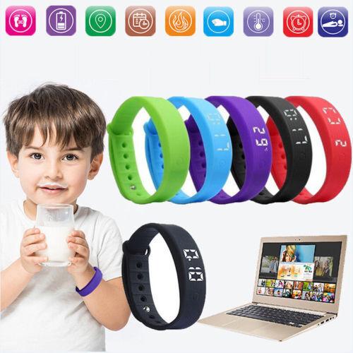 Wasserdicht Kinder Fitnesstracker Fitnessuhr Smart Armbanduhr Uhr Smartwatch