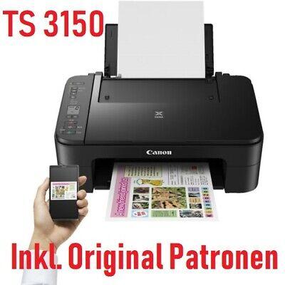 Canon Pixma TS3150 / MG3050 Multifunktionsdrucker 3in1 AirPrint  WLAN - Neu