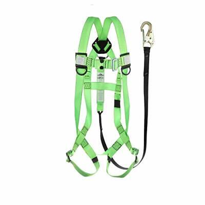 - 4400-ba1ckts Safety Harness Fall Protection Lanyard Kit Full Body