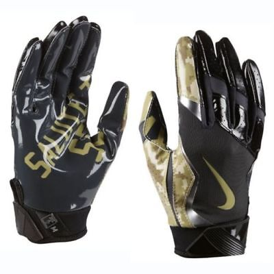 info for 2bf76 5b1b2 Nike Vapor Jet 4 STS Salute Service Football Gloves Size M Medium GF0577  010 NEW