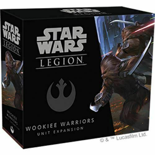 Wookie Warriors Unit Expansion Star Wars: Legion FFG NIB Wookiee