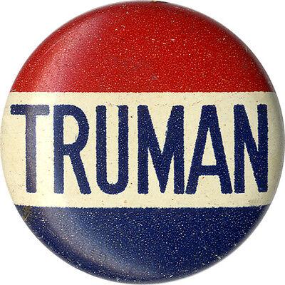1948 Campaign Harry TRUMAN Classic Name Button (4326)