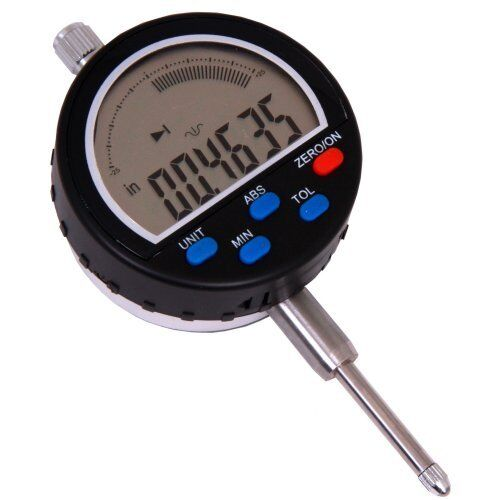 """1""""/0.0005"""" Digital Electronic Indicator Dial Gauge Inch/mm Absolute / Tolerance"""