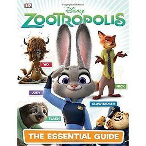 Disney-Zootropolis-Essential-Guide-Dk-Disney-Good-Condition-Book-ISBN-9780