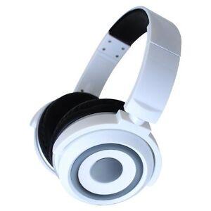 Zumreed ZHP-015 X2 Hybrid Portable Speaker Headphones - White (New)