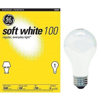 Ge 41036 100-watt A19 Soft White 24 -Pack