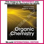 Organic Chemistry Carey