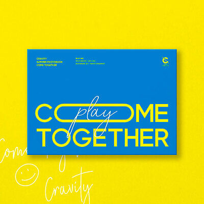 CRAVITY [COME TOGETHER] Summer Photo Book PLAY Ver DVD+Book+Mark+Ornament SEALED