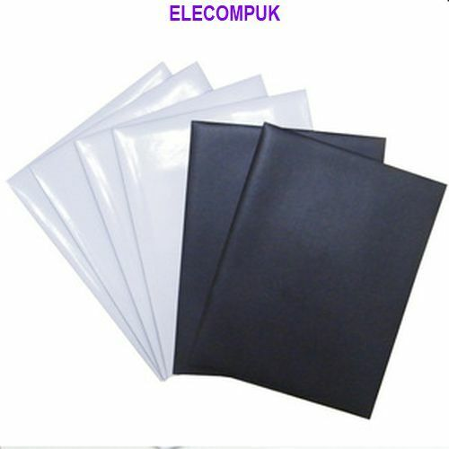 """4"""" X 6""""  MAGNETIC GLOSSY PHOTO SHEETS FOR INKJET PRINTER. 4 SHEETS PER PACK.  2"""
