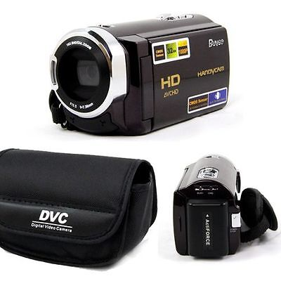 "NEW! HD 1080P 16MP DIGITAL VIDEO CAMERA CAMCORDER DV 3.0"" TOUCHSCREEN 16x ZOOM"