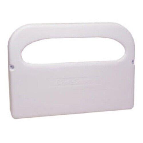 Rochester Midland Rest Assured Half Fold White Toilet Seat Cover Dispenser, New