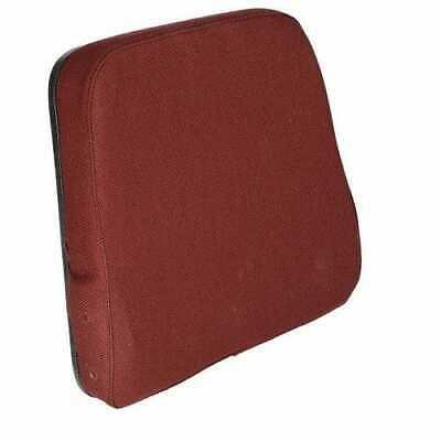 Backrest Fabric Burgundy Compatible With International Case Massey Ferguson