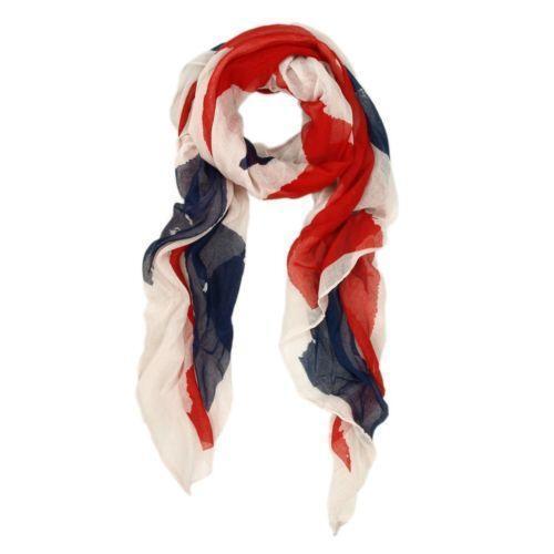 on American Flag Scarf