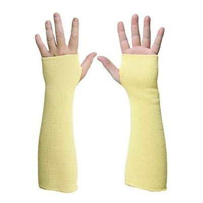 1 Pair Heat Cut Resistant Kevlar Arm Protection Sleeve 14 Thumb Hole