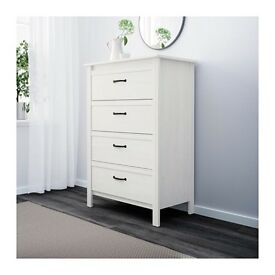 Ikea Brusali Chest of 4 Drawers