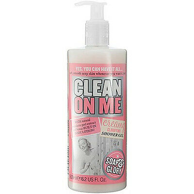 Soap And Glory Clean On Me Creamy Clarifying Shower Gel 500ml