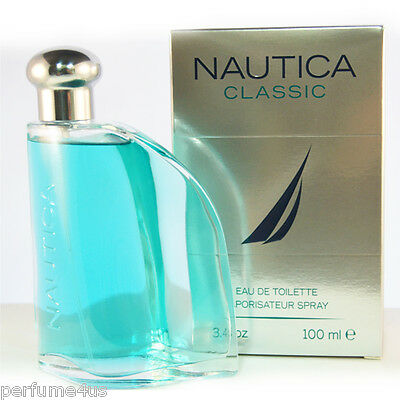 NAUTICA CLASSIC 3.4 OZ ,100ML EAU DE TOILETTE SPRAY MEN BRAND NEW IN BOX SEAL segunda mano  Embacar hacia Mexico