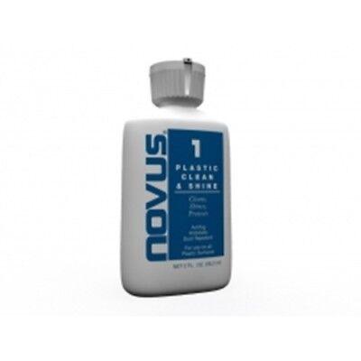 Novus Polish No. 1 Plastic Clean and Shine - 8 z bottle