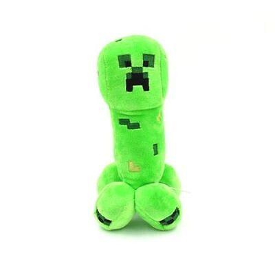 """Minecraft Creeper Plush Toys New 7.5"""" Tall Stuffed Toy FAST USA Shipper"""