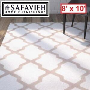 NEW SAFAVIEH 8' x 10' AREA RUG - 116680153 - IVORY NAVY CAMBRIDGE COLLECTION RUGS CARPET CARPETS FLOORING DECOR ACCEN...
