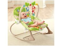 Fisher Price Rainforest Rocker - infant to toddler