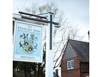Chef de Partie/Senior Chef de Partie - Hayhurst Arms, Bostock Green