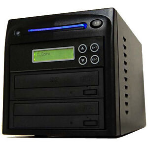 1-Burner-24X-CD-DVD-Disc-Duplicator-Copier-Multi-Dual-Layer-Standalone-Recorder