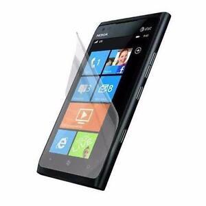 Nokia Lumia 900 Windows Smartphone Premium LCD Screen Protector Thin Film Guard & In-Store Installation