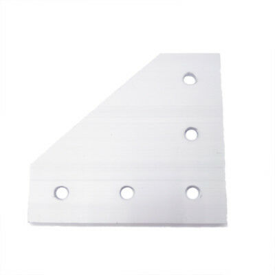 5pcs 90 Degree Joining Plate With 5 Holes For Eu Standard 4040 Aluminum Profile