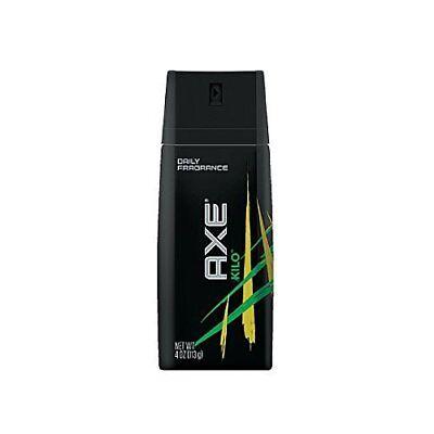 Axe Daily Fragrance Spray, Kilo, 4 oz (9 Pack)