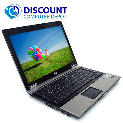 "Laptop Windows - HP Elitebook 6930P 14.1"" Laptop Windows 10 Core 2 Duo 2.2Ghz 4GB 250GB Webcam"