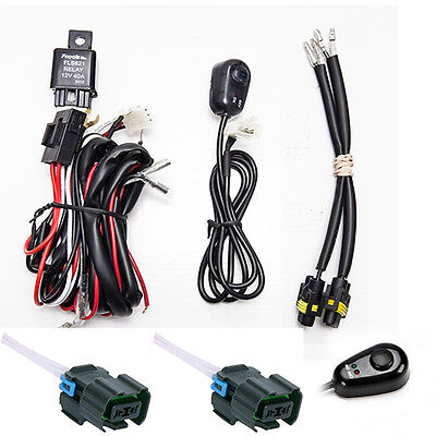 07 Chevrolet Silverado 1500 Light - Chevy Silverado Fog Light Wiring Harness Kit For 2007- 2014 2500/ 2500HD/ 3500HD