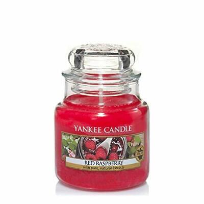 Yankee Candle Candela profumata in giara piccola | Lampone rosso | Durata Fin...