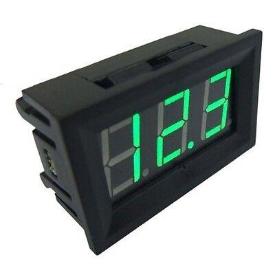 New Green Led Panel Meter Mini Digital Voltmeter Dc 0v To 99.9v Top New