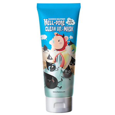 [Elizavecca] milkypiggy Hell-Pore Clean Up nose Mask,liquid type nose pack 100ml