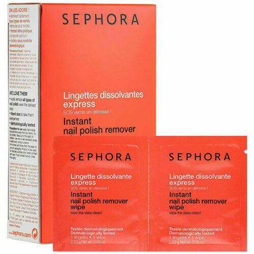 SEPHORA COLLECTION Instant Nail Polish Remover Wipes NEW in box