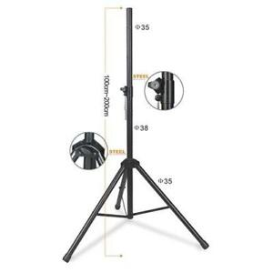 ***MEGA SPECIAL**  NEUF NEW* PROFESSIONAL SPEAKER STAND FULL METAL *** TRPIED HAUT-PARLEUR